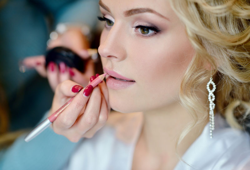 beauty kosmetik hochzeit